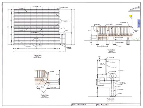 plan drawings wood deck designs deck railing designs deck and patio