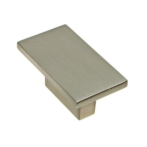 square brushed nickel cabinet pulls richelieu hardware 5 8 in brushed nickel cabinet knob