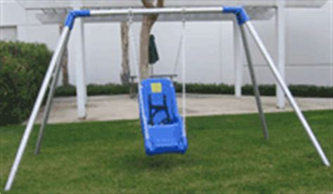 handicap swing jenn swing adaptive swings for handicapped accessible play
