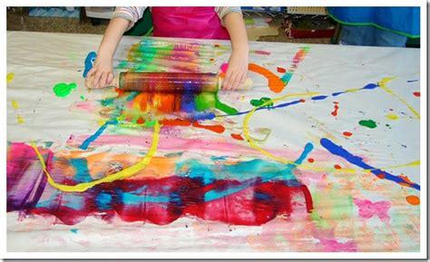painting preschool free do something process