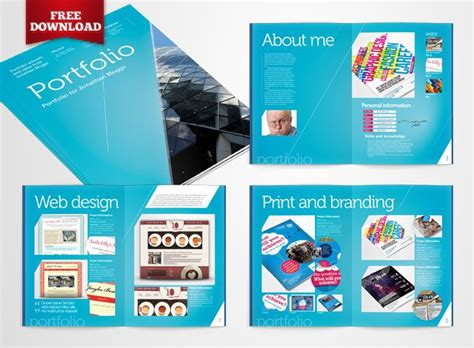 indesign templates free free indesign portfolio template by crs ind templates