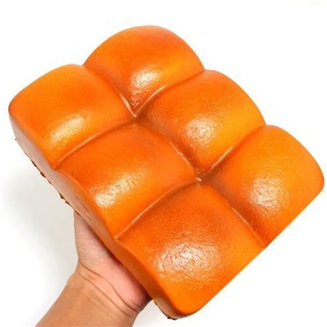 Eric Butter Cheese Bread Squishy Scented And Rising Squishy squeeze elasticity stretch squishy colossal bread rising scented toys squishies