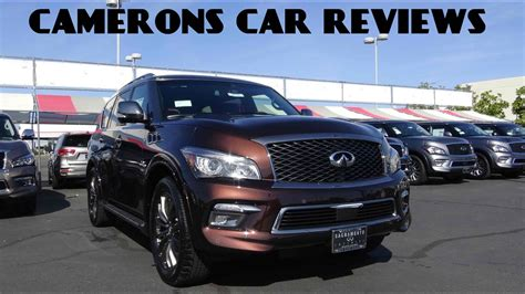 infiniti qx limited    review camerons car reviews youtube