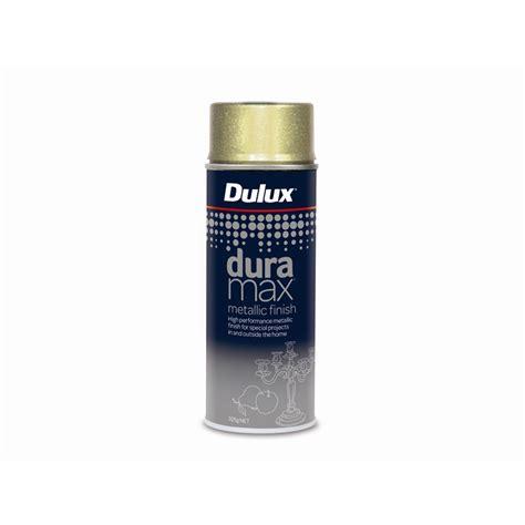 dulux duramax 325g metallic finish gold spray paint