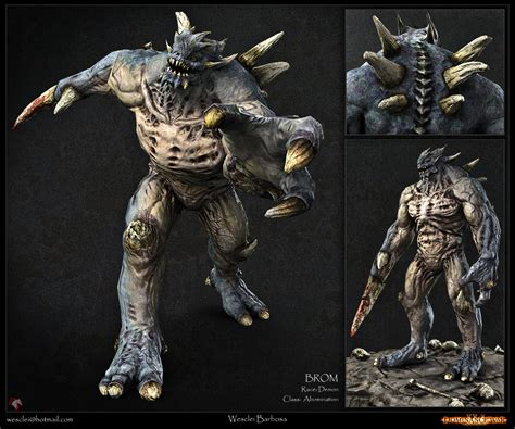 3d Model Abominations