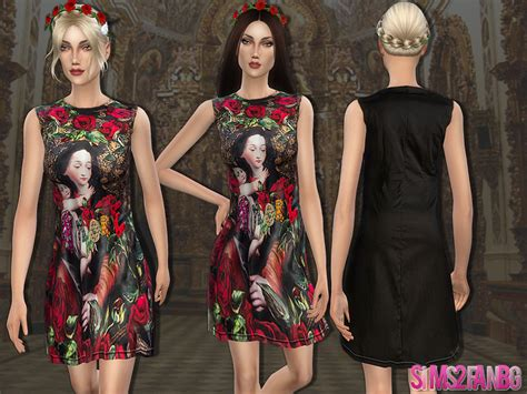 design clothes the sims 4 sims2fanbg s 49 designer dress