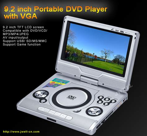 Tv Portable 9 With Usbsd Card 9 2 inch portable dvd with tv usb sd card reader