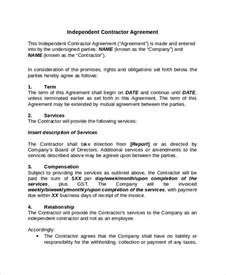 contractor confidentiality agreement 10 free word pdf