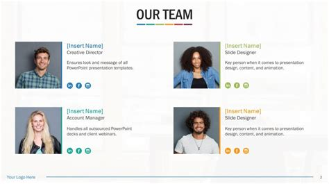 Biography Powerpoint Template Team Biography Slides For Powerpoint Biography Template