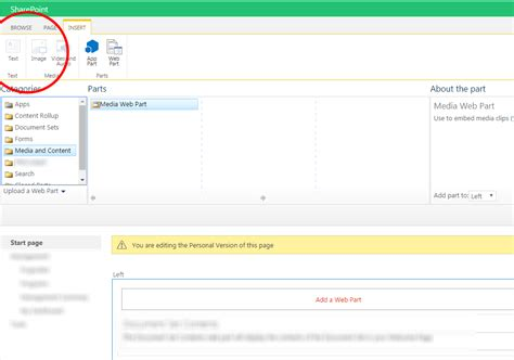 editing page layout in sharepoint 2013 web part insert text ribbon disabled while editing page