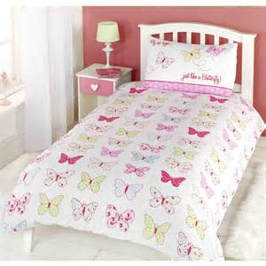 Toddler Bed Duvet Cover Butterfly Fly Up High Butterfly Junior Toddler Duvet Cover Set