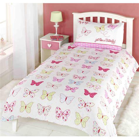 Butterfly Duvet Cover Fly Up High Butterflies Duvet Cover New Butterfly Pink Ebay