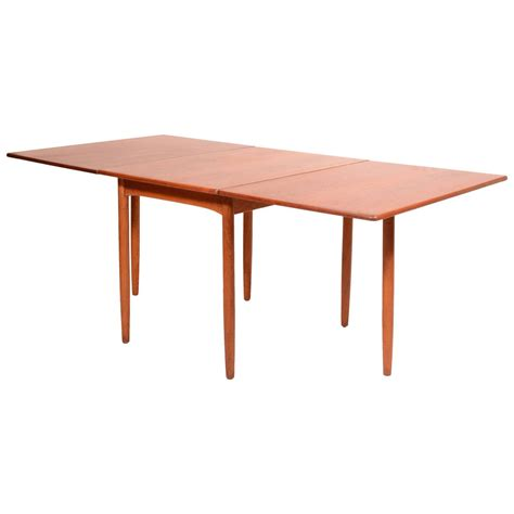 Modern Drop Leaf Dining Table Mid Century Modern Drop Leaf Dining Table By Hans C Andersen For Sale At 1stdibs