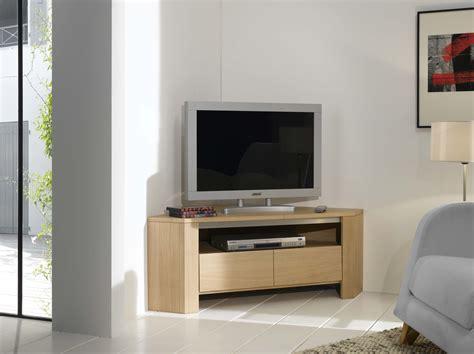 Meuble D Angle Avec Tiroir by Meuble Tv Dangle Yucca 1 Tiroir Et 1 Nichey801an