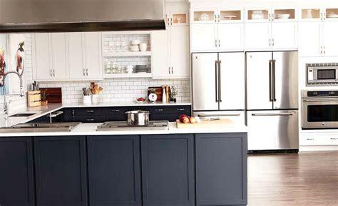 Kitchen Cabinets Bottom White Top by Kitchen Cabinets Grey Bottom White Top Home Design Ideas