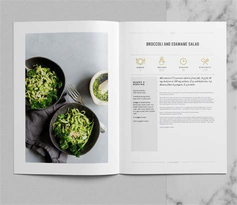 the tribeca cookbook template indesign premium download is