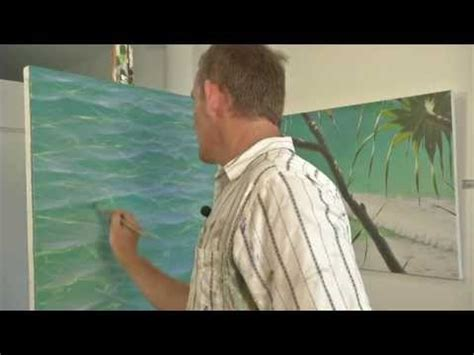 acrylic painting using glaze acrylic painting techniques glazing how to paint water
