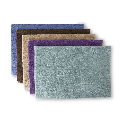 Sears Bathroom Rugs Colormate Soft Plush Microfiber Bath Rug Universal Lid Or Contour Rug Home Bed Bath