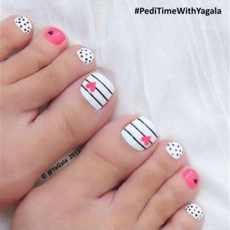 imagenes de uñas pintadas faciles y bonitas para los pies 17 mejores ideas sobre u 241 as de pies pintadas en pinterest