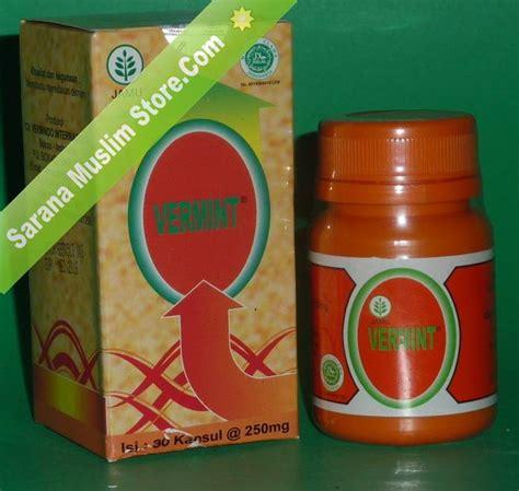 Pil Cacing Obat Tipes vermint ekstrak cacing tanah murah dan asli herbal tipus
