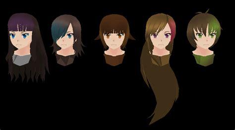 hair styles for face simulator simulator yandere simulator v yandre sim chan sim