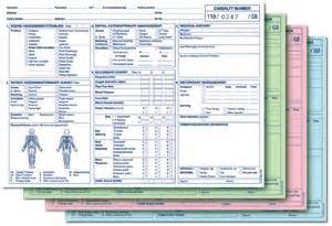 first aid form patient report forms