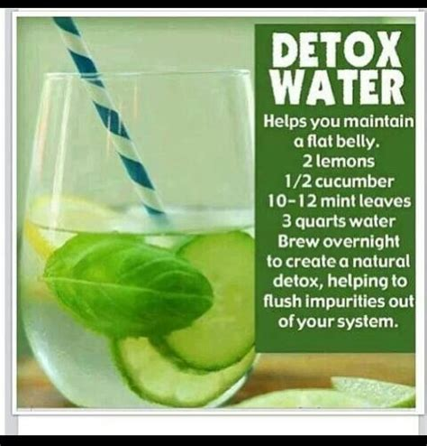 Detox While by Detox Water Drink While Doing Wrap Fitspiration
