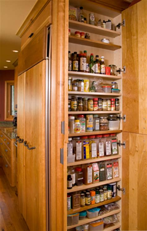 Pullouts For Kitchen Cabinets spice storage richard landon design