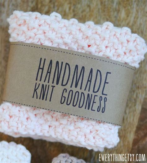 Handmade Knitting Labels - free printable knit gift labels everything etsy bloglovin