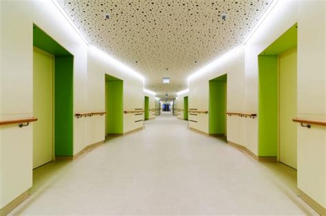 nursing home interior design nursing home lpph hainburg austria abitare