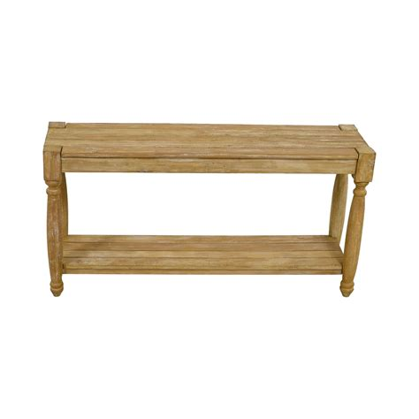 home goods sofa table 77 off homegoods homegoods natural wood console table
