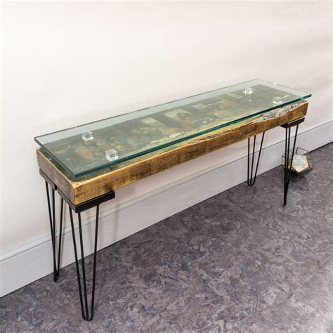 handmade vintage the last supper console table by lime