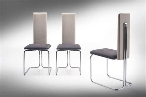 sedie acciaio e pelle sedia con schienale alto in acciaio e pelle idfdesign