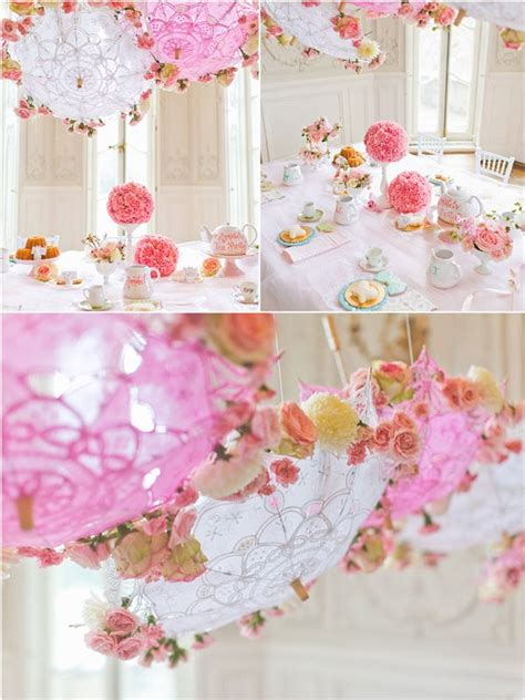 tea table decorations tea birthday pretty my