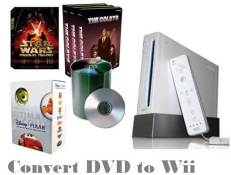 format dvd wii how to convert dvd to wii compatible file formats with dvd