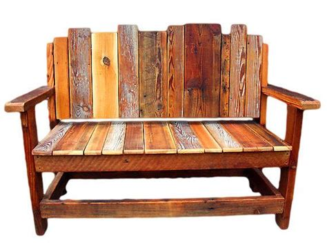 rustic wooden bench seats 25 best ideas about reclaimed wood benches on pinterest