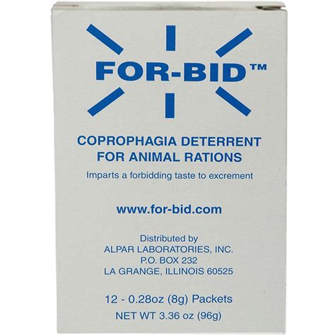 for bid for bid stool preventative 12 packets