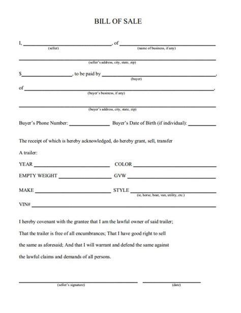 tennessee boat bill of sale pdf boat bill of sale tn template business