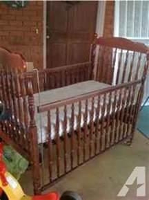 Bassett Crib Parts by Bassett Cherry Wood Baby Crib Bed Springville Al For