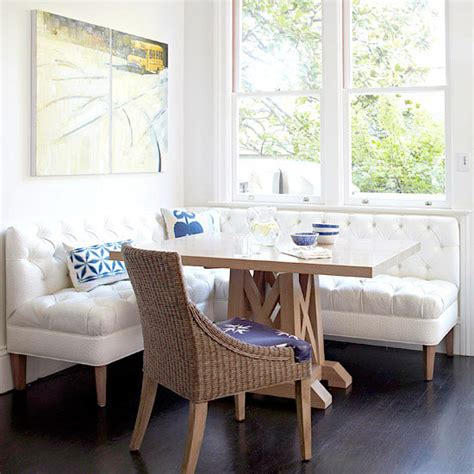 couch in kitchen nook breakfast nooks design tips and inspiration
