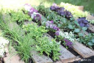 repeat crafter me wooden pallet herb garden