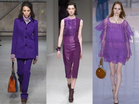 Fall 2008 Trend Gray And Purple by Fashion Trends Fifty Shades Of Purple V Fashion World