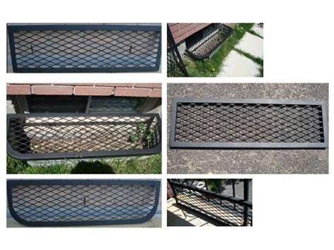 security window well covers basement window well cover made from expanded metal mesh