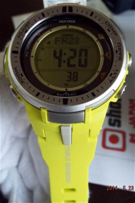 Casio Protrek Prw 3000 9b Original casio protrek prw 3000 9bjf sensor version 3 prw 3000 9b ebay