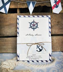 stylish vintage nautical baby shower hostess with the
