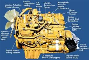 cat 3126 engine sensor diagram