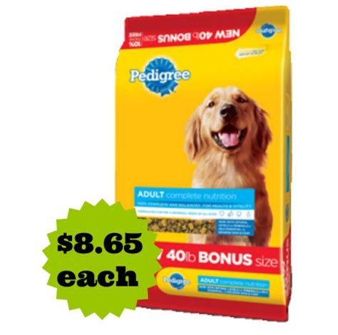 dog food coupons pedigree coupon deals for wed sept 10th page 3 babycenter