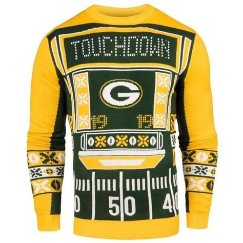 packers light up sweaters green bay packers nfl 2016 mens light up sweater sports