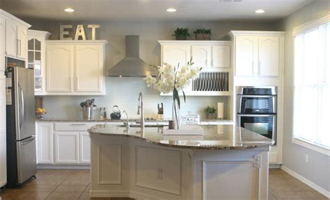 Best Kitchen Wall Colors With White Cabinets | white kitchen wall cabinets newsonair org
