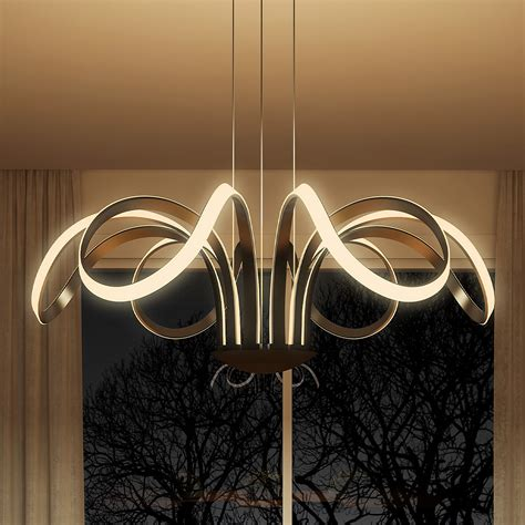 Capella Vmc32420bl Modern Flower Pedal Led Chandelier By Led Chandelier